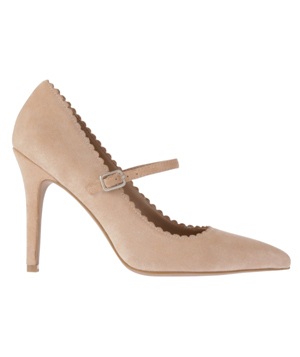 Loft Pamela Scalloped Mary Jane Pumps