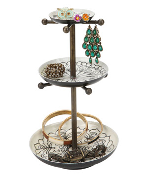 Medallion Jewelry Stand