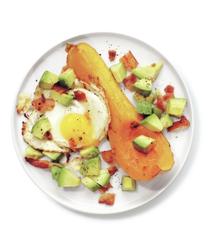 Bacon-and-Egg Butternut Squash