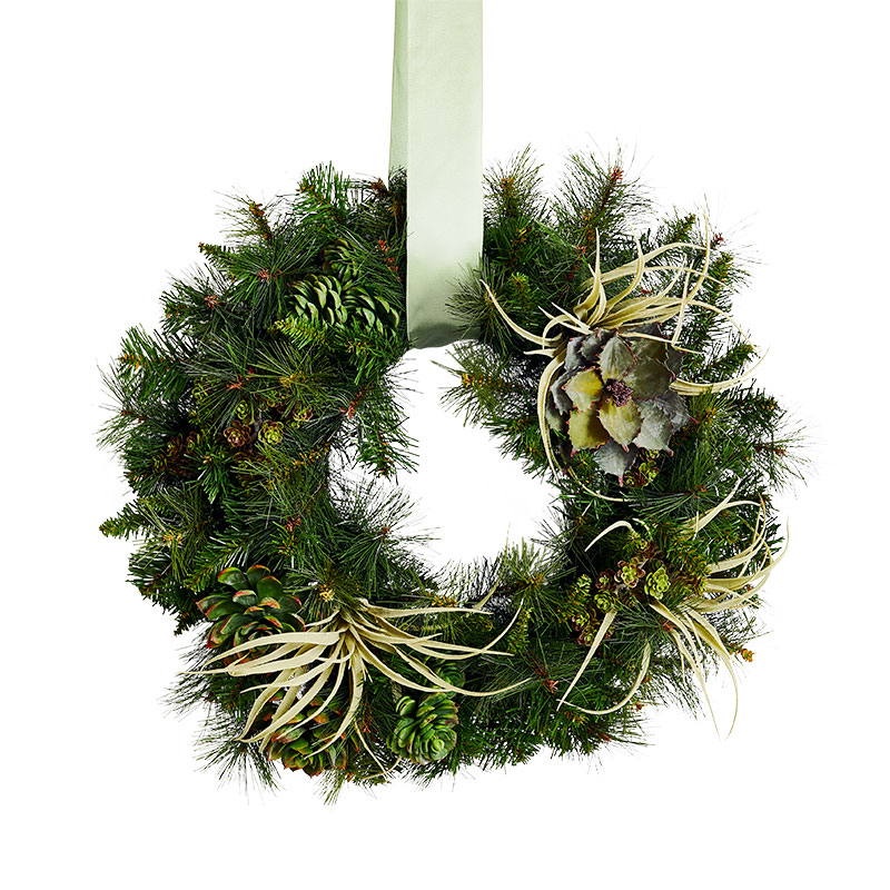 Christmas Wreath Ideas: Boho & Organic