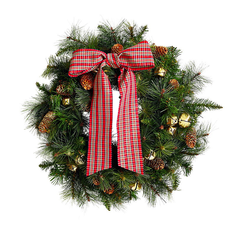 Christmas Wreath Ideas: Old-School & Classic