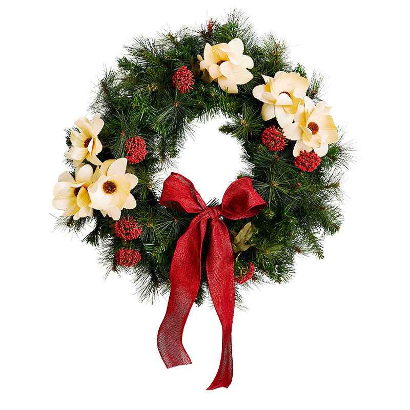 Christmas Wreath Ideas: Timeless & Two-Tone