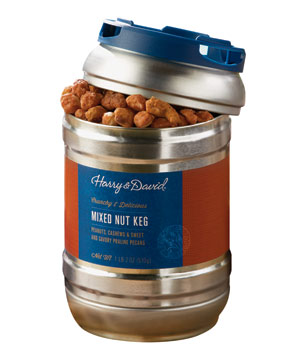 Harry & David Mixed Nut Keg