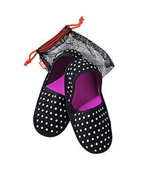 Fold and Go Travel Slippers