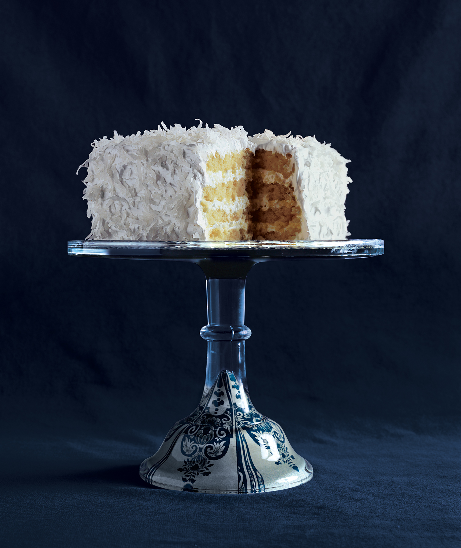Four-Layer White Cake