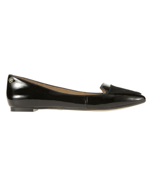 Ann Taylor Jordyn Patent and Haircalf Pointy Toe Flats