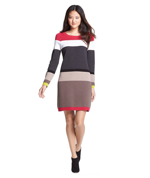 Eliza J Stripe Sweater Dress