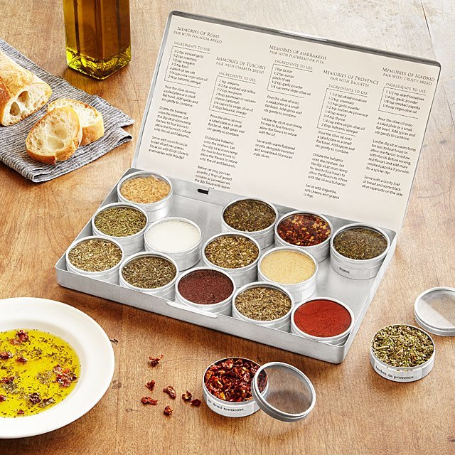 Gifts for Foodies: Olive Oil Dipping Spice Kit