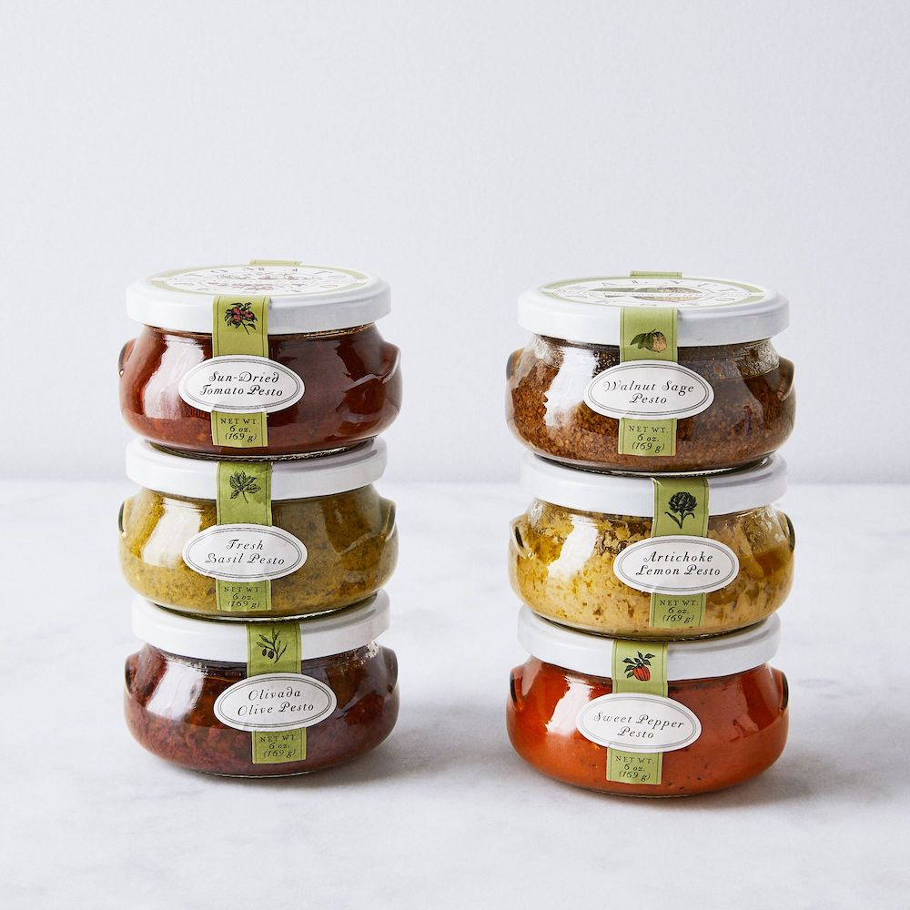 Gifts for Foodies: Artisanal Pesto Set of Three From Food 52