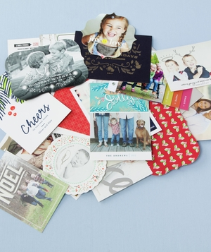 Abundance of Holiday Cards
