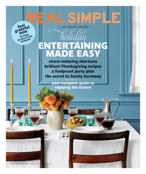 Real Simple October 2013