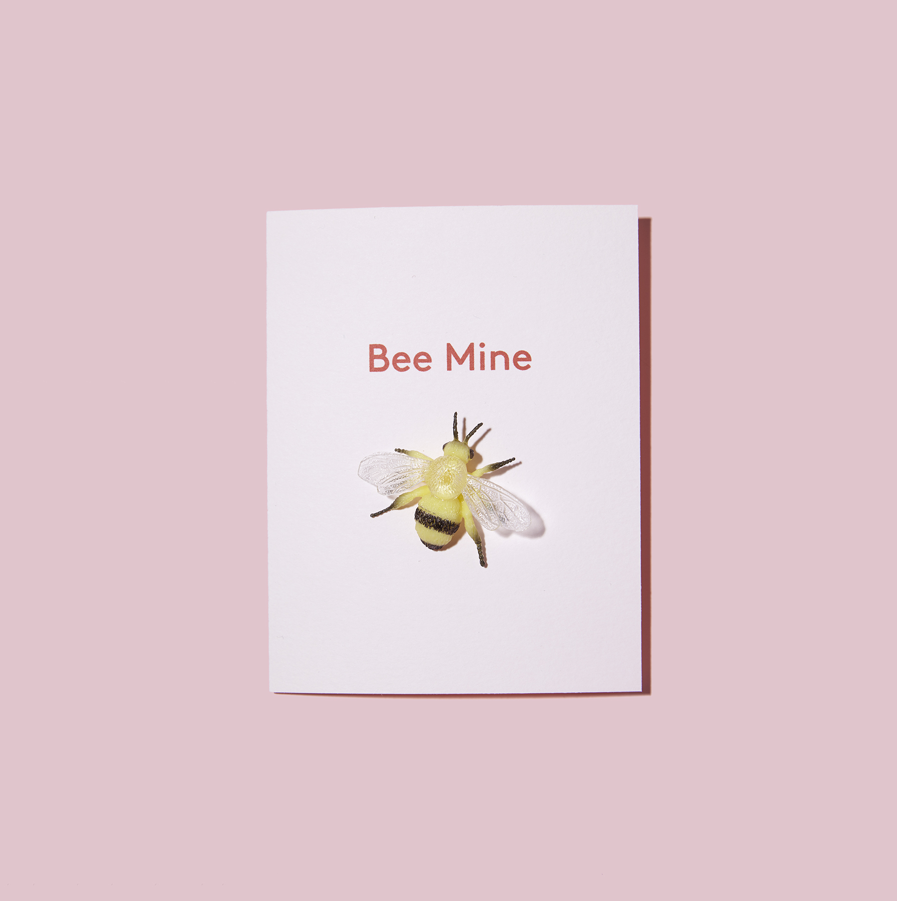 Bee Mine Valentine's Day Card