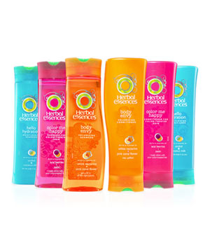 Herbal Essences Shampoos and Conditioners