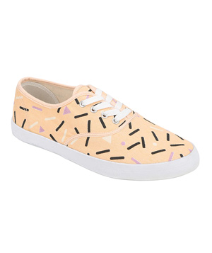 Urban Outfitters Printed Plimsoll Sneaker