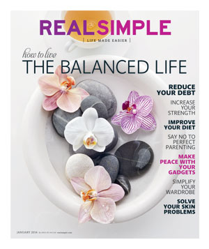 Real Simple January 2014