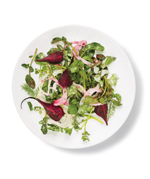 Watercress, Beet, and Fennel Salad