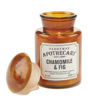 Chamomile and Fig Apothecary Candle