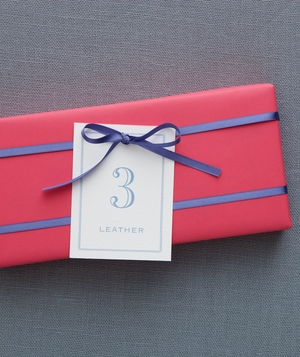 3rd Anniversary: Leather
