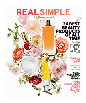 Real Simple March 2014 Cover