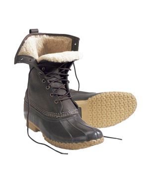 "Women's Bean Boots by L.L. Bean 10"" Shearling-Lined"