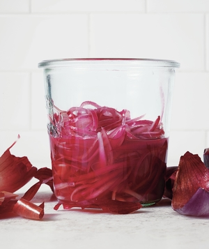 Macerated Red Onion