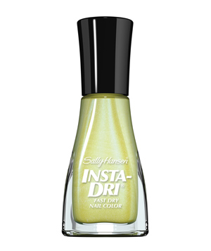 Sally Hansen Insta-Dri Fast Dry Nail Color in Chartreuse Chase