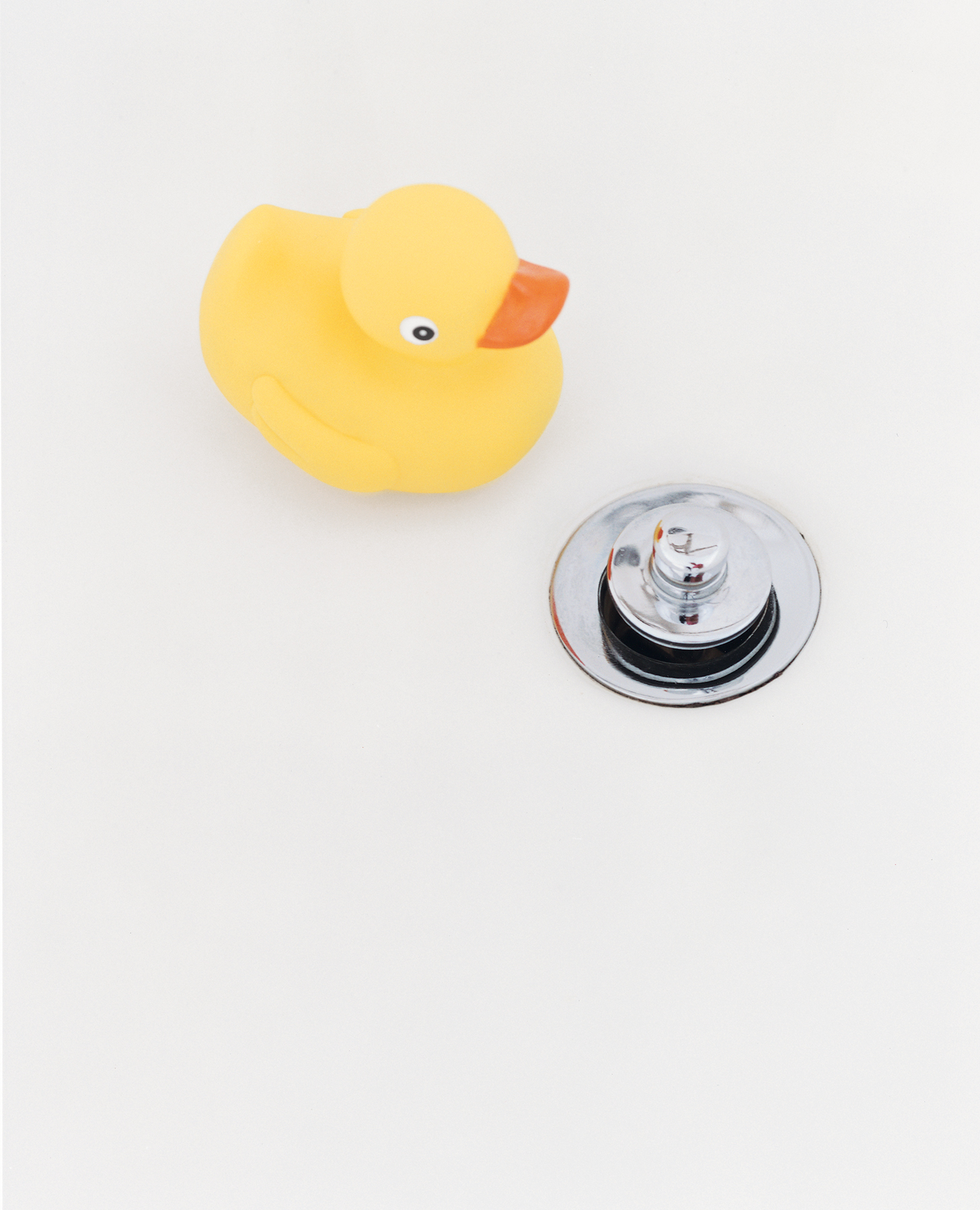 Rubber ducky and drain
