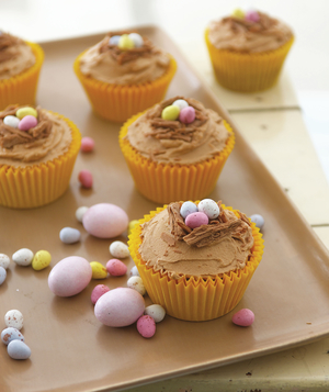 Easter Nest Cupcakes From Wild About Cupcakes