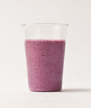 Gingery Berry and Oat Smoothie