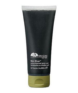 Origins Skin Diver Active Charcoal Body Wash