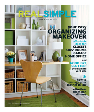 Real Simple May 2014 Cover