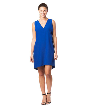 Cuyana for Real Simple Silk Shift Dress