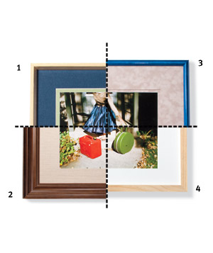 Frames for a cool photograph