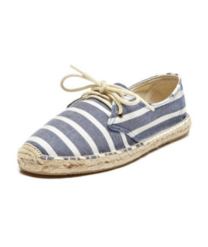 Soludos Classic Stripe Lace Up
