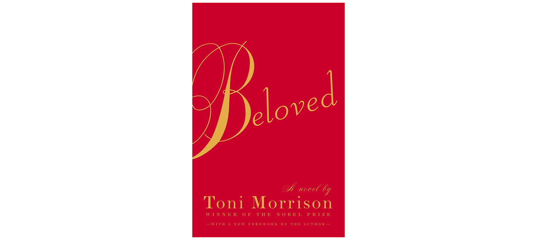 Cover of Beloved, by Toni Morrison