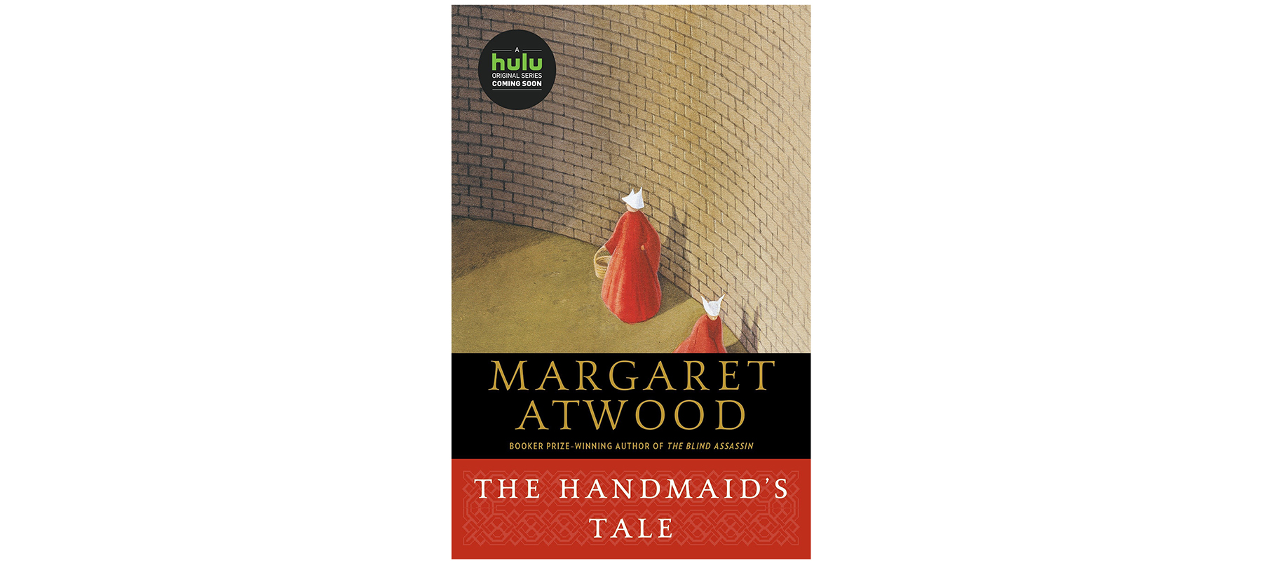 Cover of The Handmaid's Tale, by Margaret Atwood
