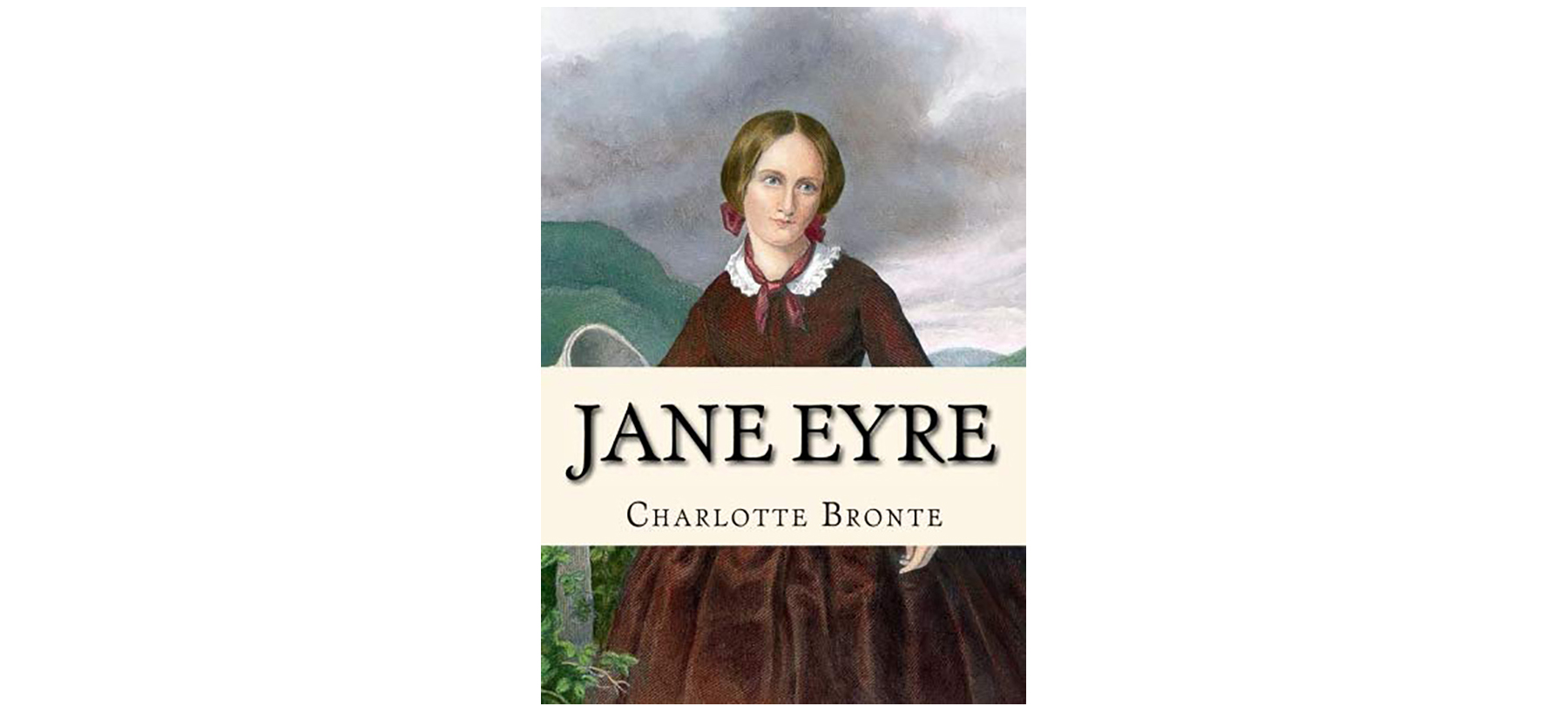 Cover of Jane Eyre, by Charlotte Brontë