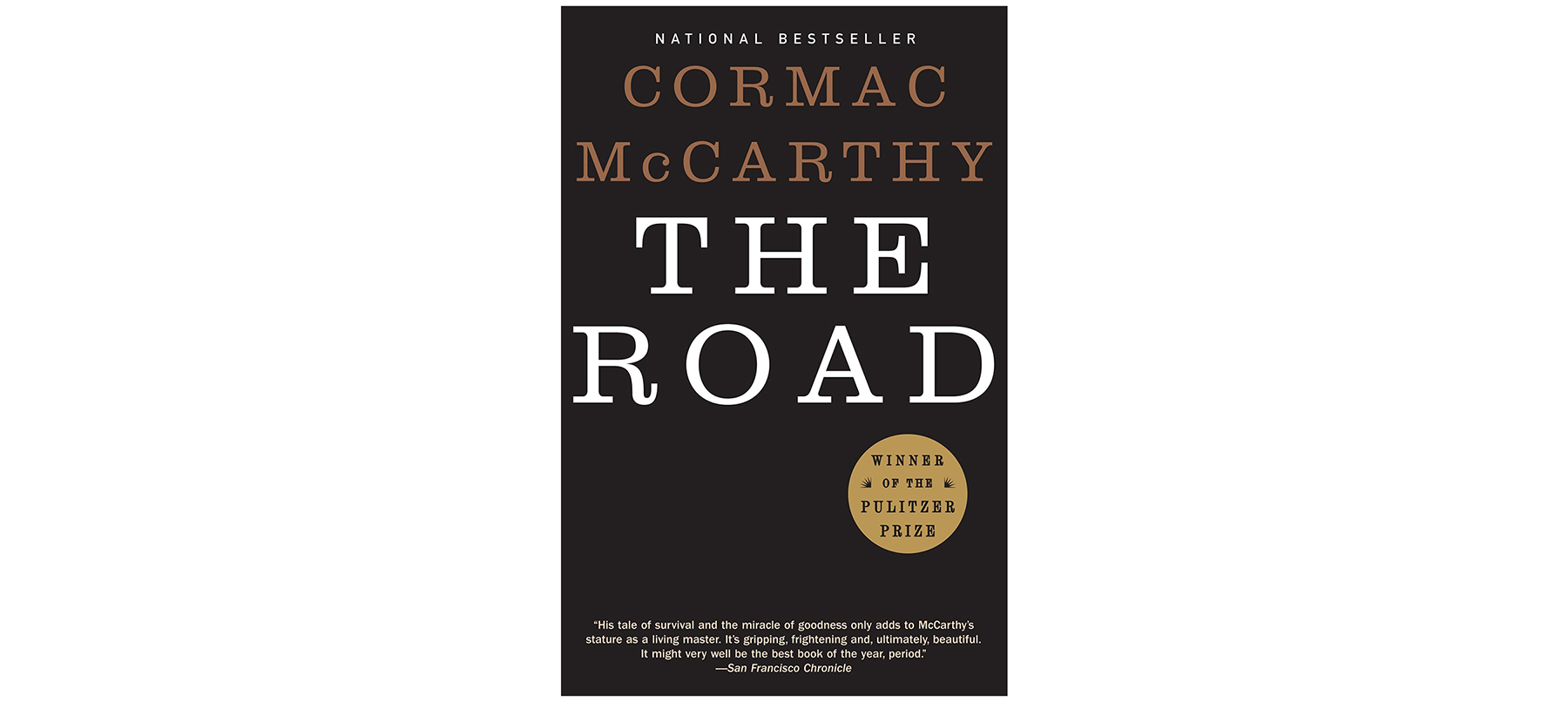 Cover of The Road, by Cormac McCarthy