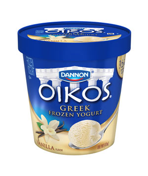 Dannon Oikos Vanilla Greek Frozen Yogurt