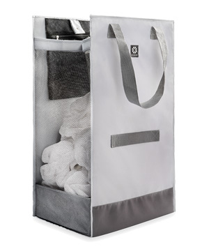 Microdry Large Laundry Hamper Tote