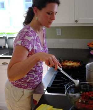 Michelle Wildgen, cooking