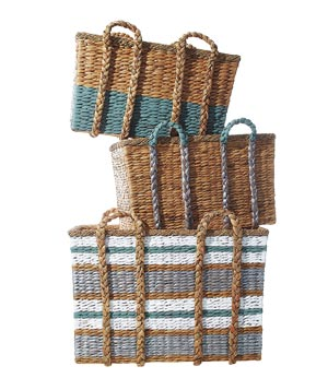 Color-Block Baskets