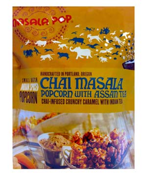 Chai Masala Popcorn with Assam Tea Three-Pack