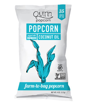 Quinn Farm-To-Bag Coconut Oil Popcorn