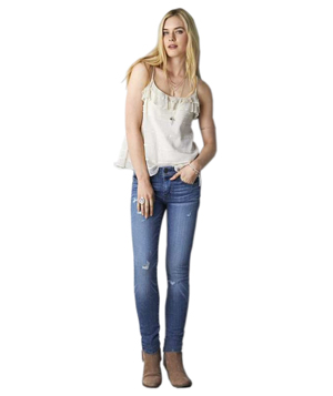 American Eagle Outfitters Mid-Rise Super Skinny Jean