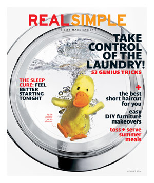 Real Simple August 2014 Cover