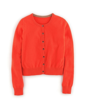 Cropped Cashmere Cardigan