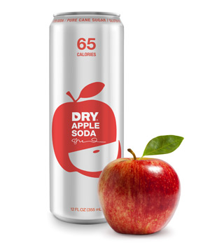 Dry Apple Soda