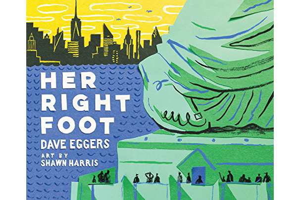 Cover of Her Right Foot, by Dave Eggers, Shawn Harris (Illustrator)