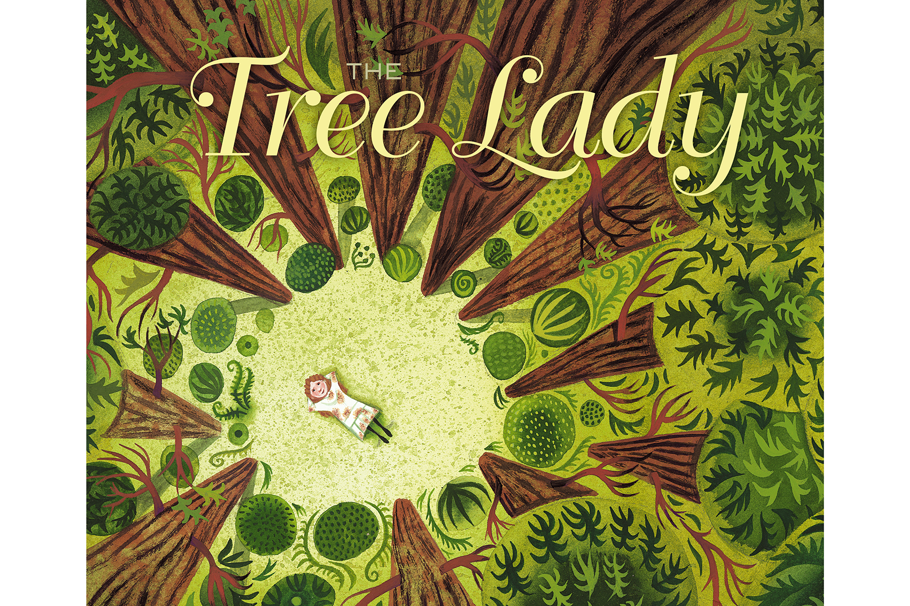 The Tree Lady: The True Story of How One Tree-Loving Woman Changed a City Forever, by H. Joseph Hopkins, Jill McElmurry (Illustrator)
